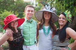 2015-bridges-derby-party-Eric, Lori, Sydney and Wanda