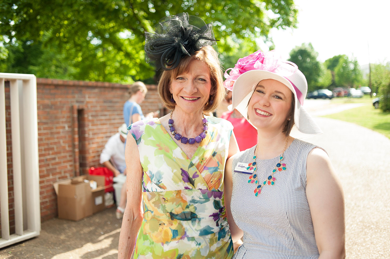 2015-bridges-derby-party-Beverly Geldreich and Nikki
