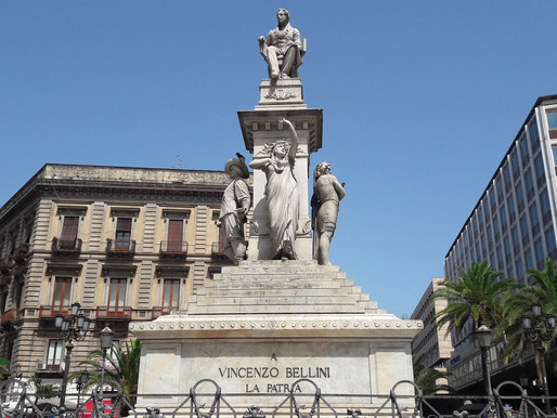 Catania, in Vincenzo Bellini's footsteps