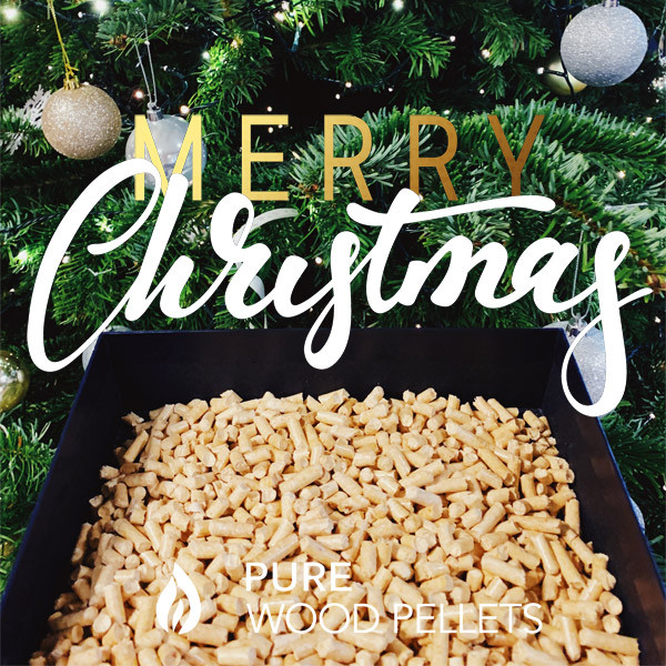 Pure Wood Pellets wishes you a Merry Christmas & Happy New Year