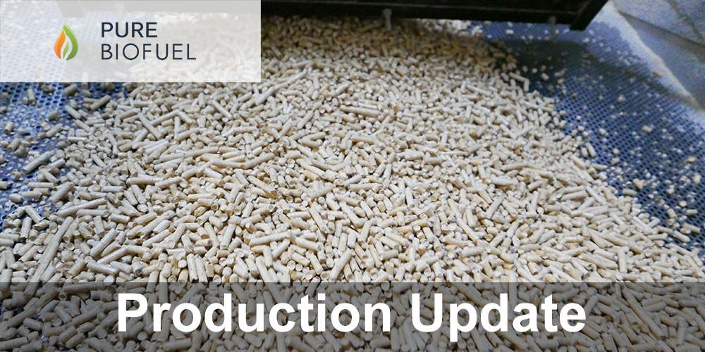Wood Pellet Production Update