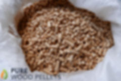 Wood Pellets Close up