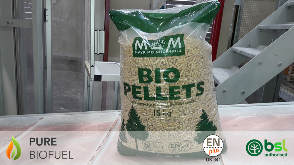 MM Holz Wood Pellets 15kg Bag Front