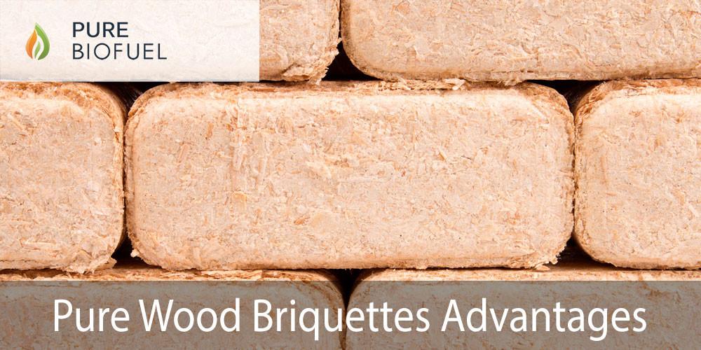 Pure Wood Briquettes