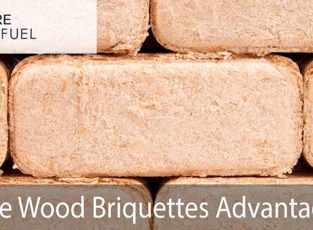 Advantages of Pure Wood Briquettes