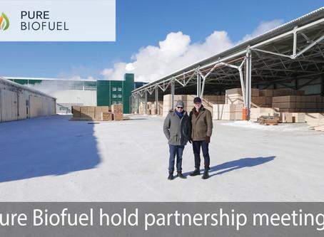 Pure Biofuel holds partnership meetings