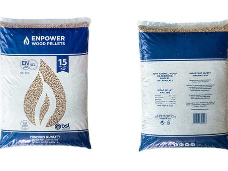 The launch of ENPOWER Wood Pellets