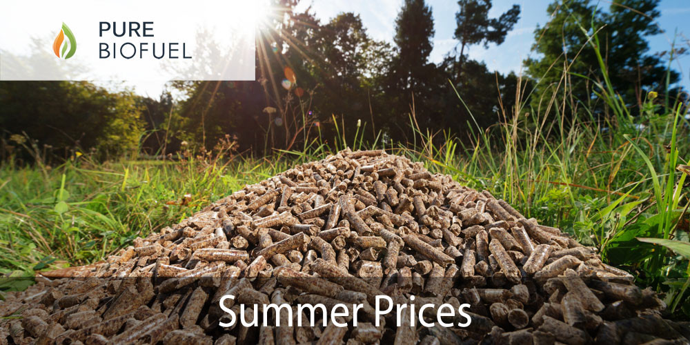 Wood Pellet Summer Prices