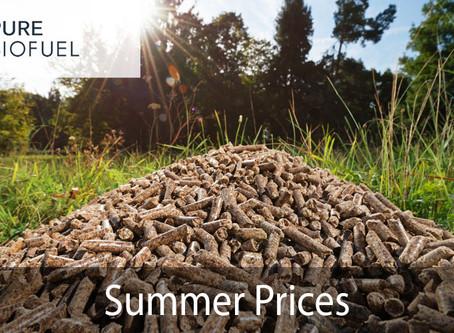 Summer Wood Pellet Prices