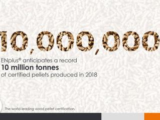 Record Production of ENplus Wood Pellets