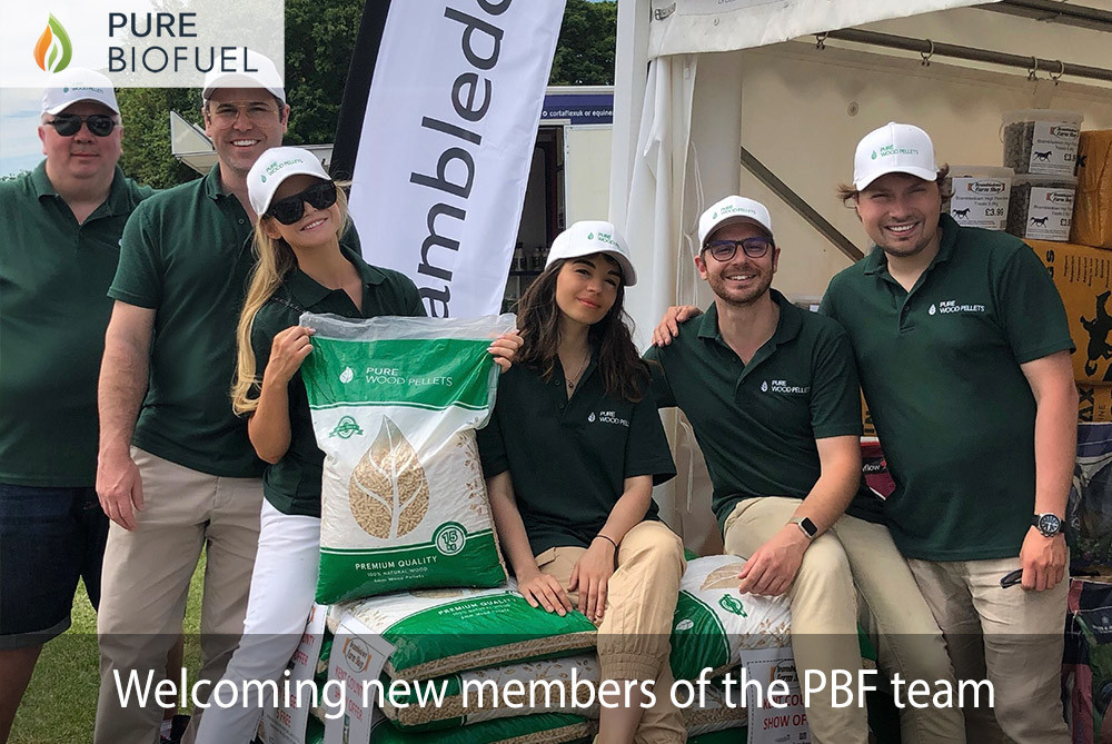 Photo of the Pure Biofuel Team