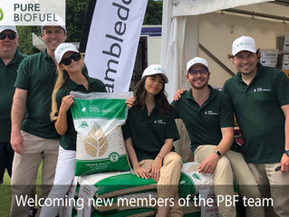 Welcoming new team members at Pure Biofuel