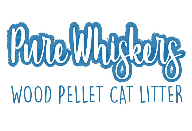 Pure Whiskers Wood Pellet Cat Litter