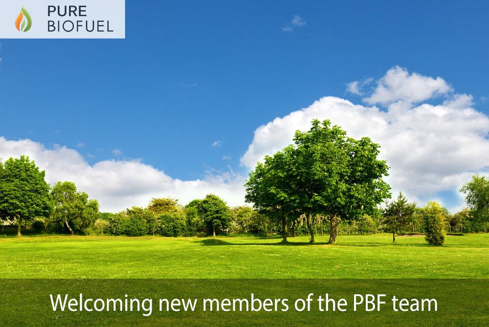 PBF new team members