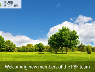 Pure Biofuel welcome two new employees