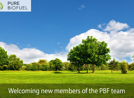 Pure Biofuel welcome three new employees