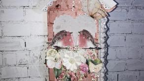Mini-álbum Casa de Passarinho ARQUIVO GRÁTIS