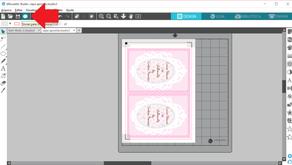 Salvando em pdf no Silhouette Studio