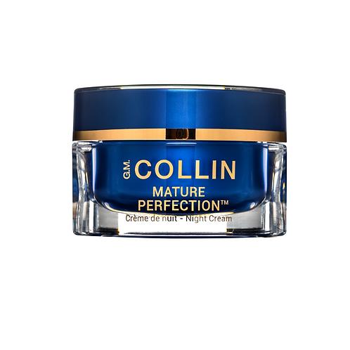 Crème de nuit Mature Perfection - Anti-âge, 50 g - G.M. Collin