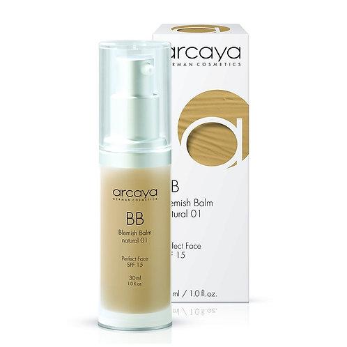 BB crème natural 01 SPF 15, 30 ml - ARCAYA