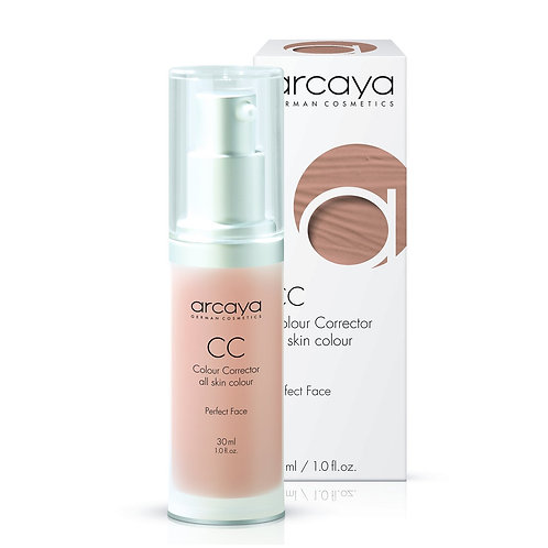 CC crème, Correcteur de Couleur, tous types de peau, 30 ml - ARCAYA