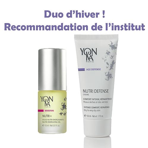 Duo d'Hiver de Sylvie - Crème Nutri Defense + Huile Nutri+ - Yon-Ka