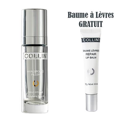 Sérum Hyaluronic Filler, 30ml + Baume à Lèvres 9g. Gratuit* - G.M. Collin