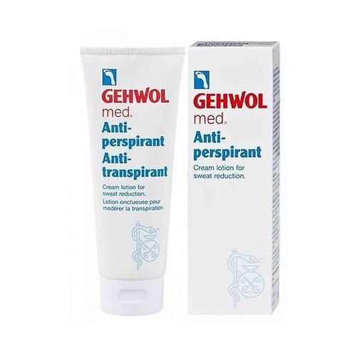 Lotion Onctueuse pour Modérer la Transpiration des Pieds, 125ml - Gehwol Med