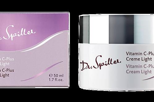 Crème Vitamine C-plus Light, 50 ml - Dr. Spiller