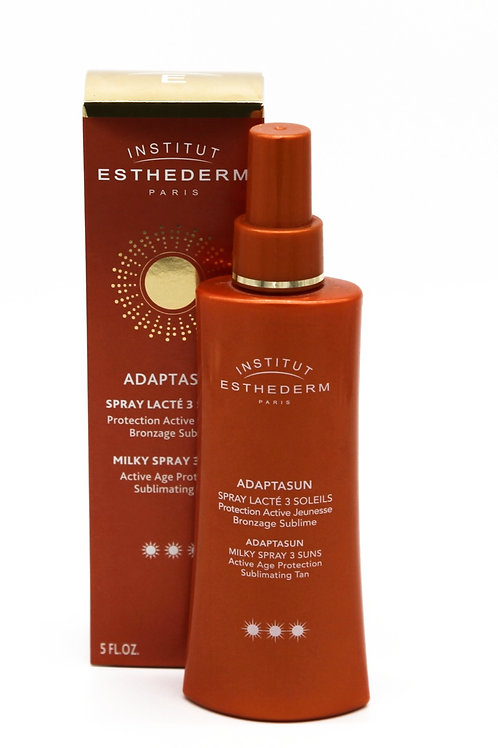 Adaptasun spray lacté 3 soleils, 150 ml - Esthederm