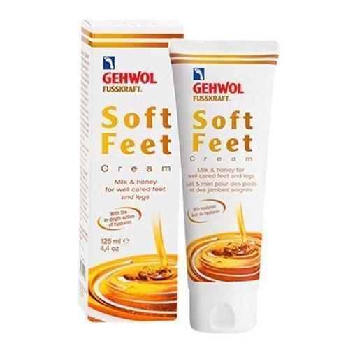 Crème ''Soft Feet'' Lait et Miel, 125ml -Gehwol