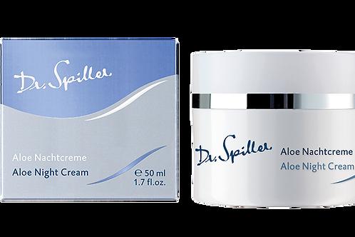 Crème de nuit à l'aloès vera, 50 ml - Dr. Spiller