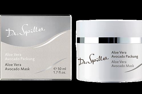 Masque à l'Aloès Vera et Avocat, 50 ml - Dr. Spiller