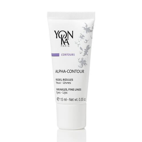 Alpha-Contour rides, ridules yeux et lèvres aux acides de fruits, 15 ml - Yon-Ka