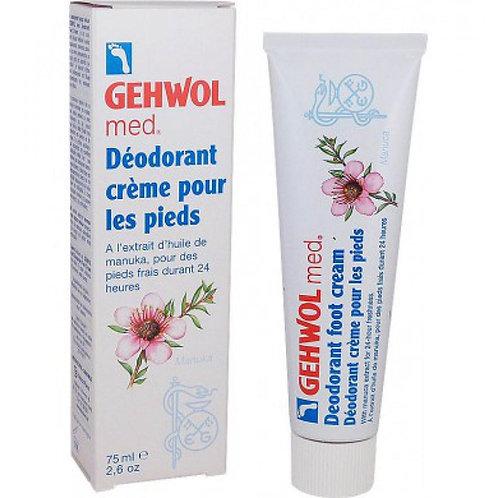 Déodorant Crème pour les Pieds, 75ml - Gehwol Med