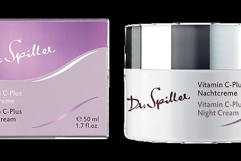 Crème de nuit Vitamine C-plus, 50 ml - Dr. Spiller