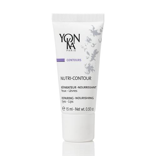 Nutri-Contour réparateur yeux et lèvres aux extraits de plantes, 15 ml - Yon-Ka