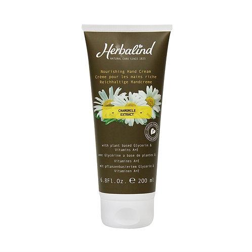 Crème pour les mains à base de Glycérine avec Camomille, 200ml - Herbalind