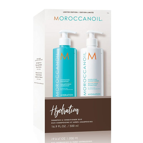 Moroccanoil Duo Shampooing et après-shampooing - Hydration (2 x 500 ml)