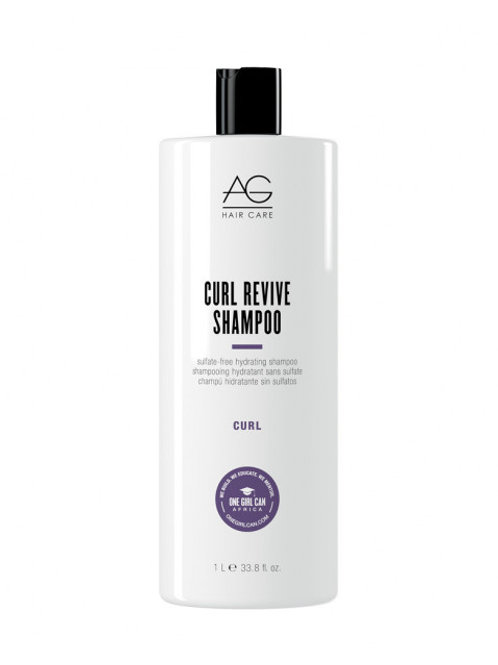 CURL Revive Shampooing hydratant sans sulfate, 1 L - AG Haire Care