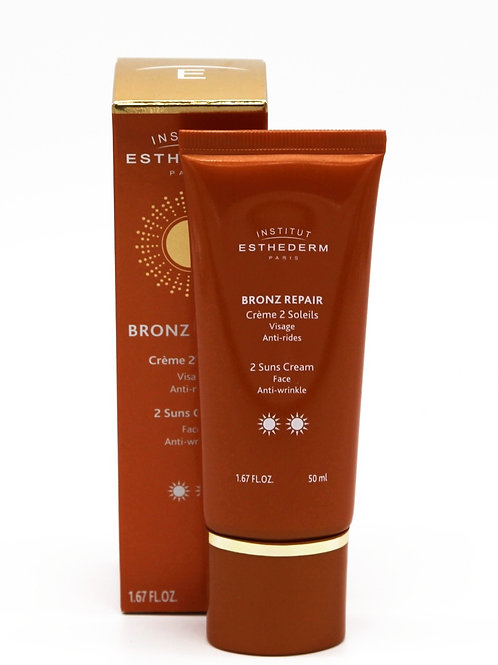 Bronz Repair visage 2 soleils, 50 ml - Esthederm