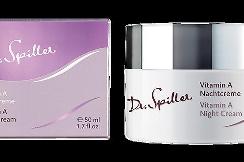 Crème de nuit à la vitamine A, 50 ml - Dr. Spiller