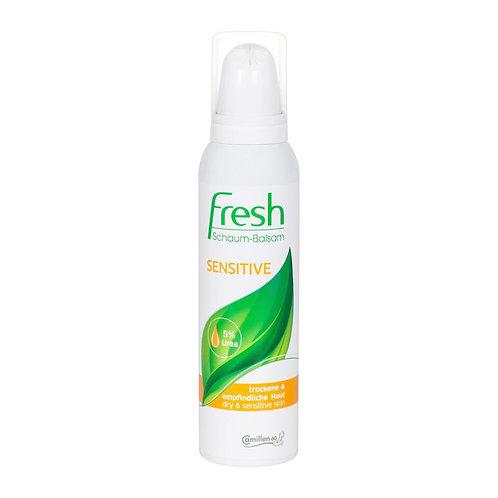 Mousse Fresh Sensitive, Peau Sensible et sèche, 5% d'Urée, 150ml - Camillen