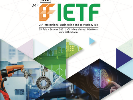 IETF 2021 : 25 February - 24 March 2021 : CII HIVE Virtual Platform