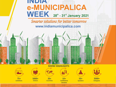 India E-Municipalica Week: Virtual Exhibition & Conferences, 28th - 31st Jan, 2021