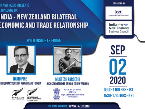India - New Zealand Bilateral Economic and Trade Relationship dialogue