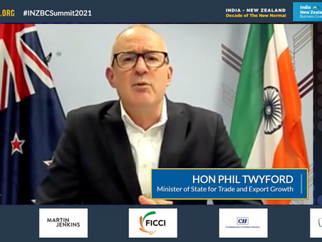 Hon Phil Twyford's Address to the 7th International INZBC Summit 2021