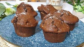 Muffin healthy au chocolat coco