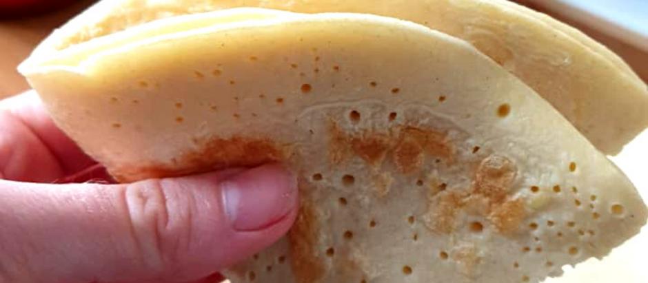 Crêpes healthy sans gluten et sans lactose