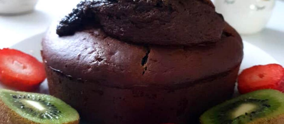 Gâteau au yaourt au chocolat Healthy sans gluten sans lactose